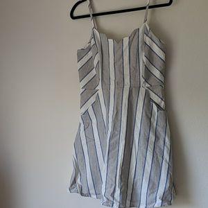 Market & Spruce Crissie linen blend dress